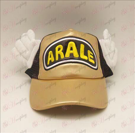 D Ala Lei шапка (злато - черна)