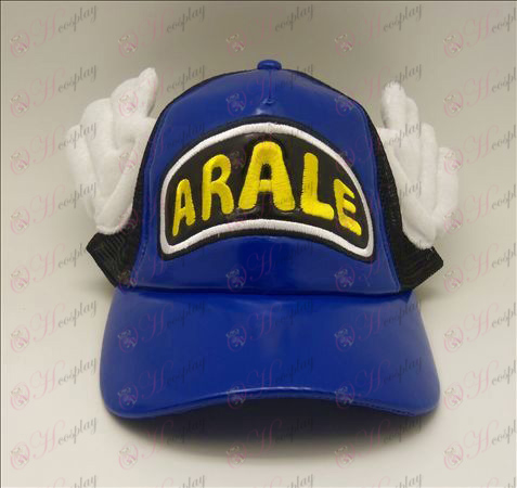 D Ala Lei hat (blue - black)