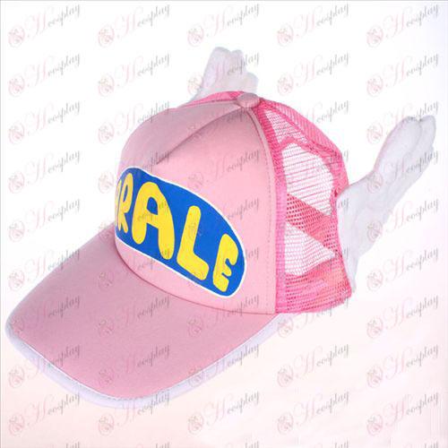 Ala Lei Xiaoyun pink hálós sapka