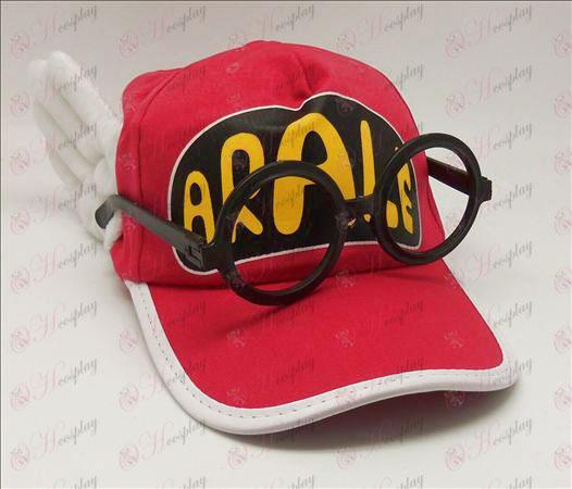 Ala Lei hat + briller (Rose)