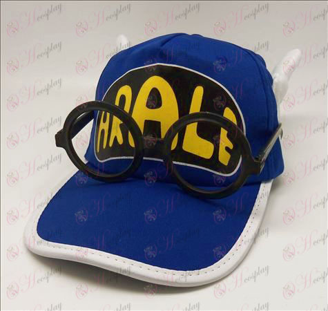 Ala Lei hat + glasses (blue)