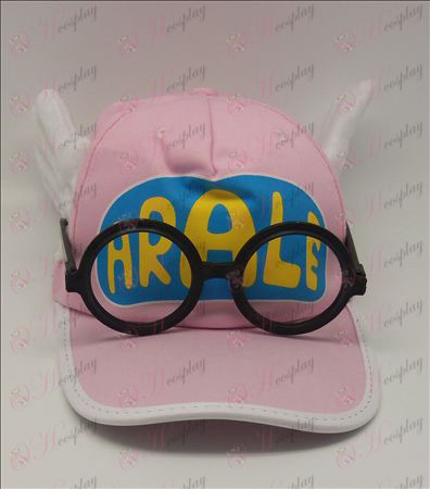 Ala Lei klobúk + okuliare (ružová)