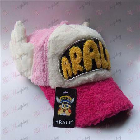 Ala plyšový klobúk (Rose okraj)