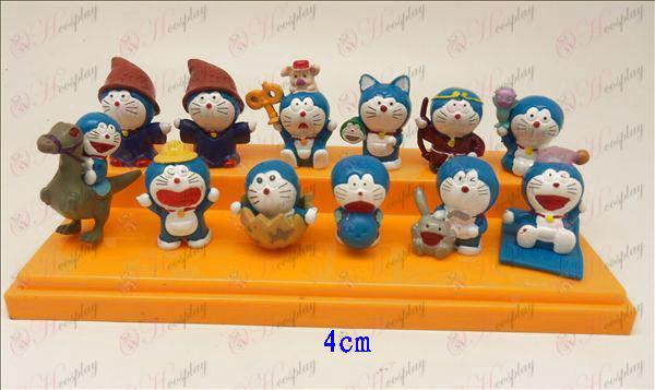 12 Doraemon nukke ()