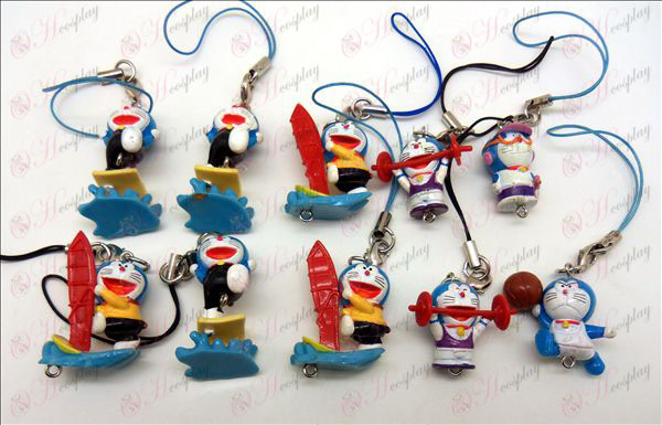 10 Doraemon pop machine touw