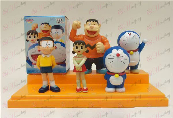 5 models jingle family doll (box)