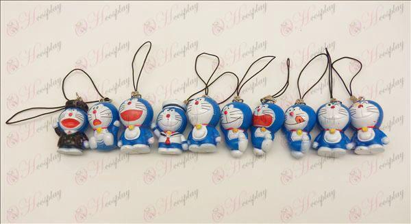 10 Strap κούκλα Doraemon