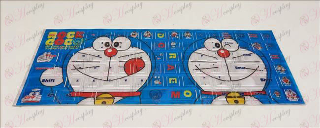 PVC Doraemon keyboard stickers