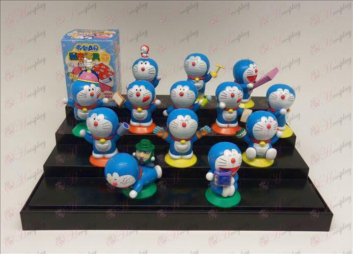13 modeller mystisk rekvisitter Doraemon dukke