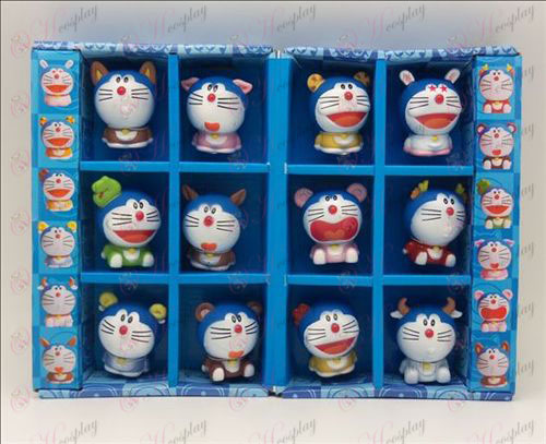 12 Zodiac Doraemon doll