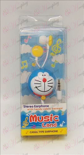 Doraemon headphones