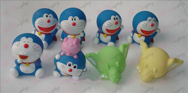 Eight Doraemon doll (no box)