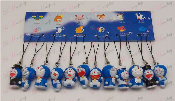 12 Doraemon doll Strap