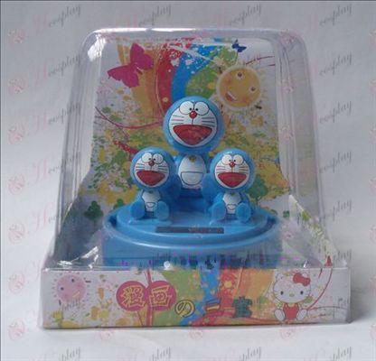 Sambo Doraemon Solar Tillbehör Bobblehead (box höjd 12cm)