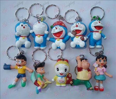 10 Doraemon doll keychain