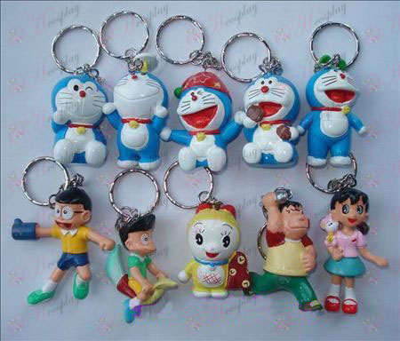 10 Doraemon docka nyckelring