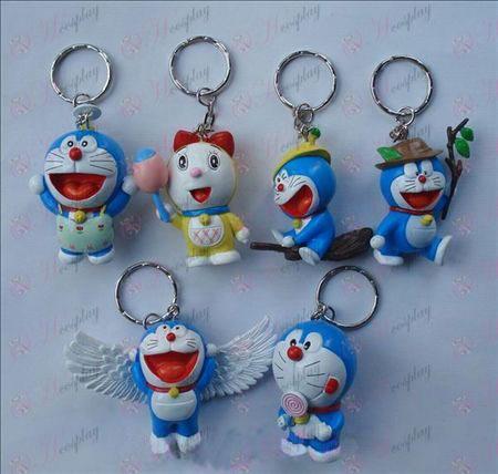 6 דורימון בובת מחזיק מפתחות