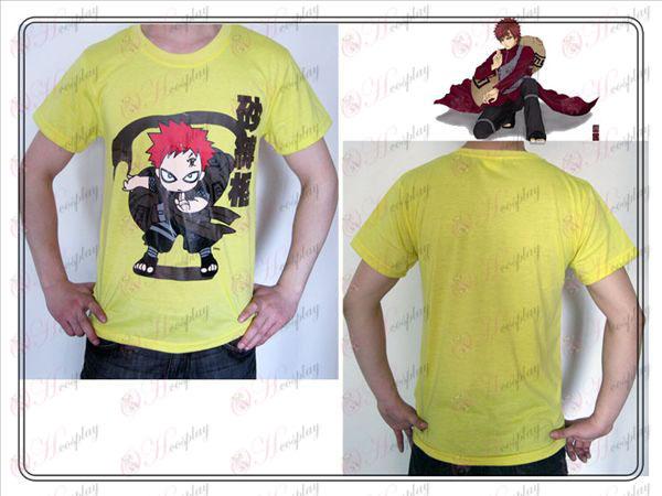 Naruto Gaara T-shirt (amarillo)