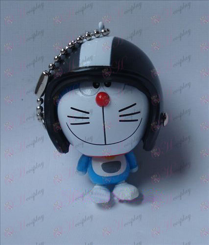 Doraemon hjelm ornamenter