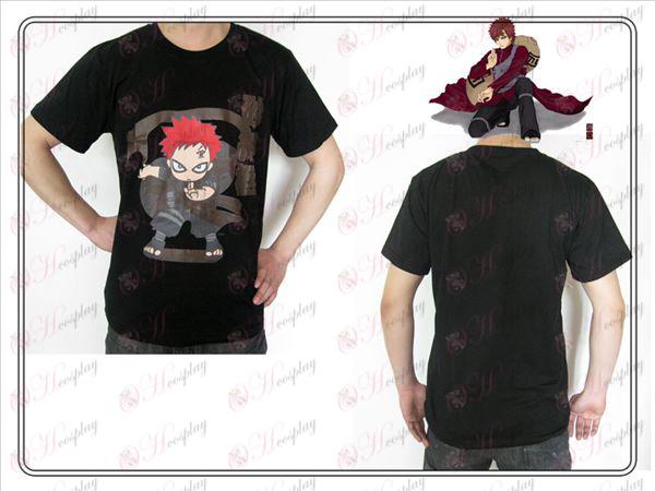 Naruto Gaara T-Shirt (schwarz)