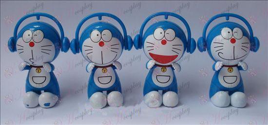 4 דגמי אוזניות בובת ג\'ינגל (7.5cm)