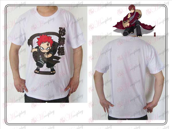 Naruto Gaara T-Shirt (weiß)