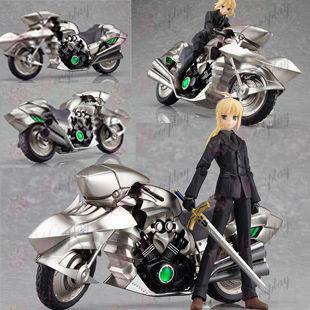figma-Saber-nula motocyklov páči (jediný motocykel)