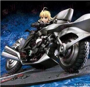 Fate/zero-Saber- Sebastian traje moto motocicleta +