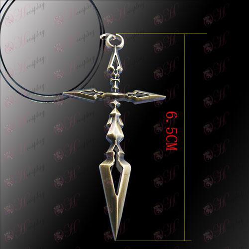 Steins, Gate Tillbehör Cross Necklace
