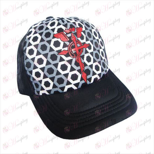 High-net hat - steel refining flag