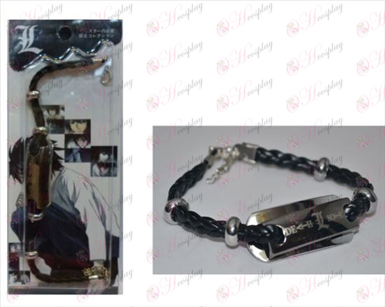Death Note Accessori braccialetto di cuoio Shuangpai