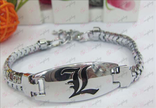 New Death Note AccessoriesL Enamel Bracelet
