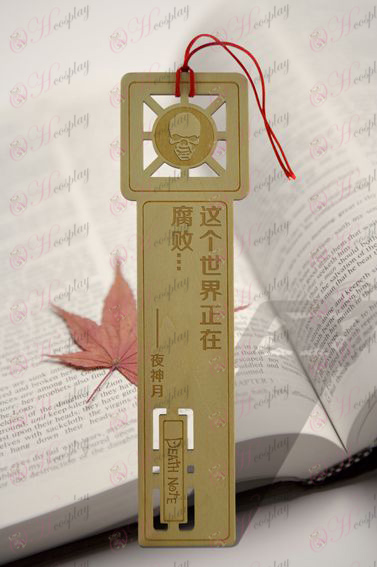 Death Note Accessories Yeyue God Bookmarks 2