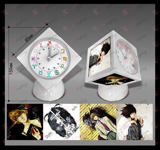 Death Note Accessories cube alarm clock