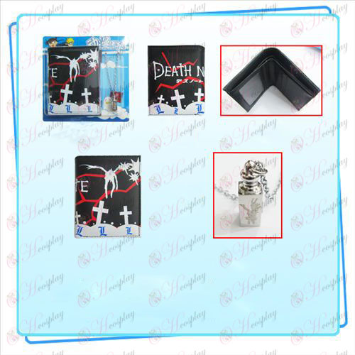 Death Note Accessories Combo necklace purse