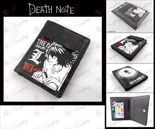 Death Note Accesorios corto billetera