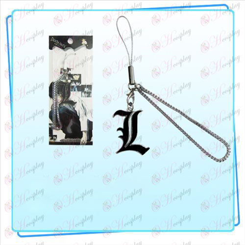 Death Note AccessoriesL Flagge Strap (schwarz)