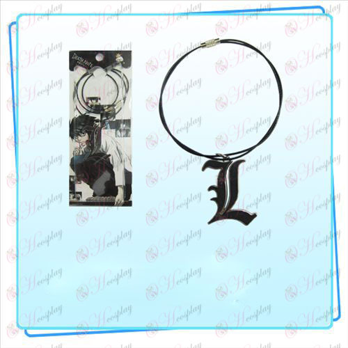 Death Note AccessoriesL верига флага тел (черна)