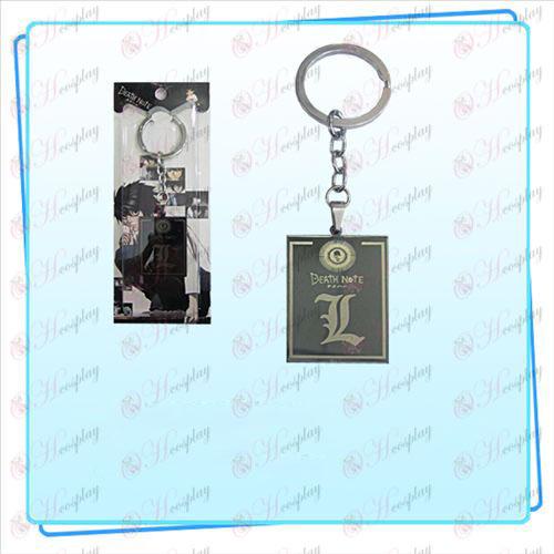 Death Note парти аксесоари пръстен лицензионен ключ