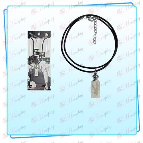 Death Note Accessori pesi collana di corda nera