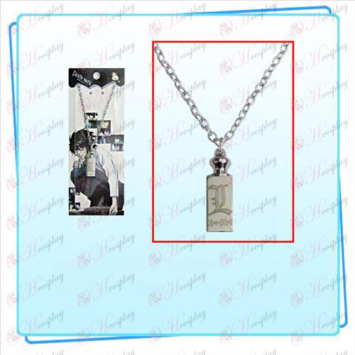 Death Note AccessoriesL sign necklace weights