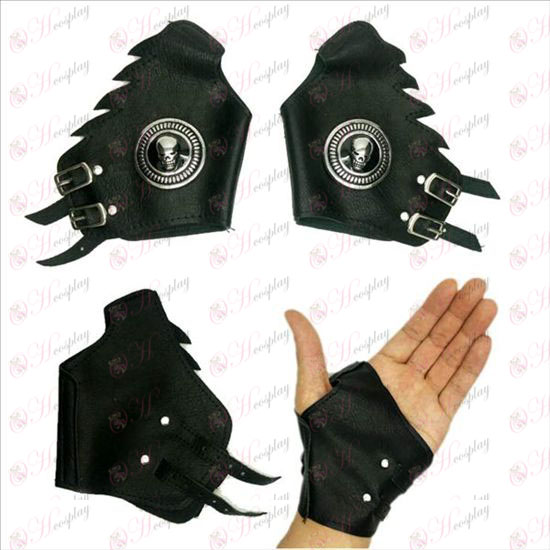 Death Note AccessoriesL silver leather gloves
