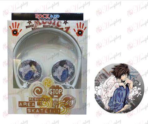 Stereo headset can be folded commutation headphones Death Note Accessories