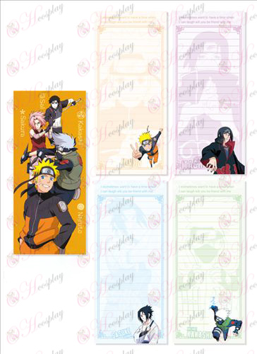 Naruto 010 Long Scratch Pad