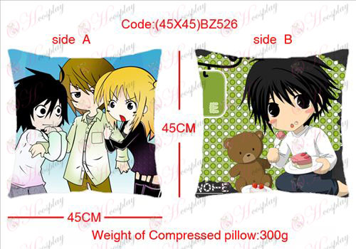 (45X45) BZ526-Death Note Accessories sided square pillow