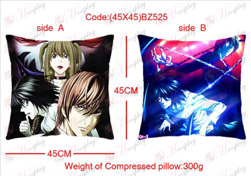(45X45) BZ525-Death Note Accessories sided square pillow