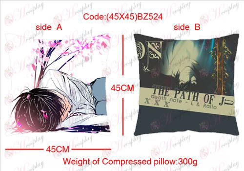 (45X45) BZ524-Death Note Accessories sided square pillow