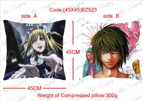 (45X45) BZ523-Death Note Accessories sided square pillow