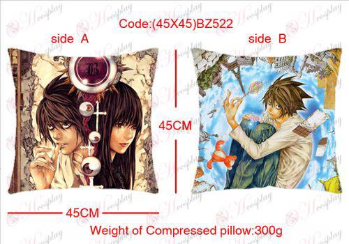 (45X45) BZ522-Death Note Accessori schierarono cuscino quadrato