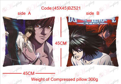(45X45) BZ521-Death Note Accessories sided square pillow